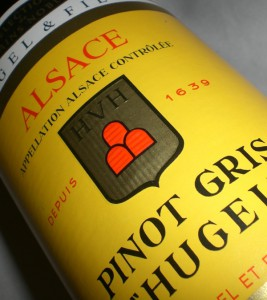 Pino Gris Hugel Selection de Grains Nobles