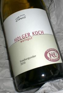 Grauburgunder Holger Koch