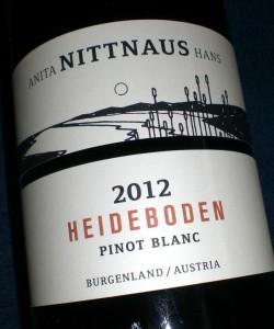 Heideboden Pinot Blanc 2010