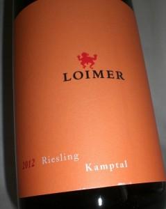 Riesling Kamptal DAC 2012