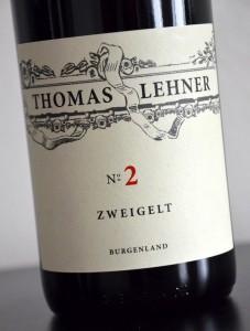 No.2 Zweigelt 2012