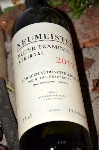 Roter Traminer Steintal 2012
