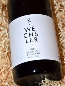 Wechsler Westhofen Riesling 2013