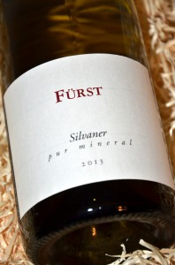 Fuerst Silvaner pur mineral 2013