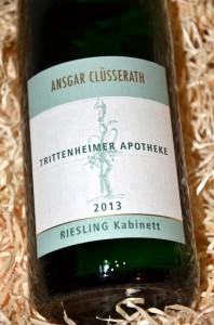 Cluesserath Trittenheimer Apotheke 2013 Kabinett