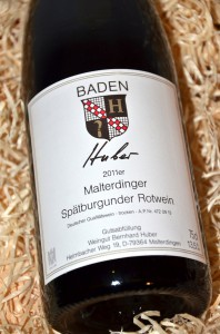 Huber Malterdinger Spaetburgunder 2011