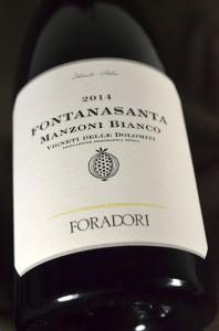 Fontanasanta Manzoni Bianco 2014