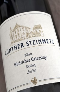 Wintricher Geyerslay 2014 Riesling Sur Lie