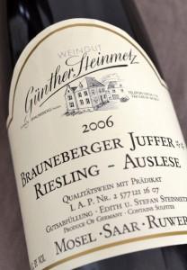 Brauneberger Juffer 2006 Riesling Auslese
