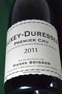 Boisson-Vadot Premier Cru 2011