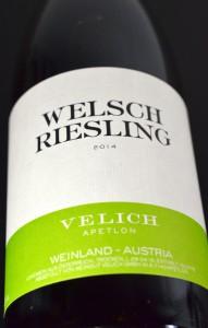Welschsriesling 2014 Velich